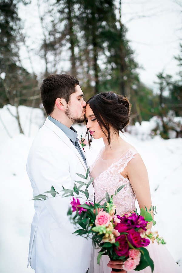 Blush Pink Inspired Winter Wedding-13