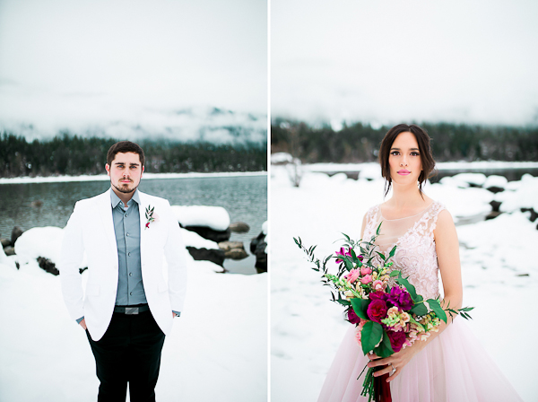 Blush Pink Inspired Winter Wedding-14
