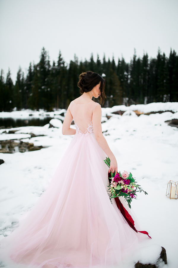 Blush Pink Inspired Winter Wedding-2