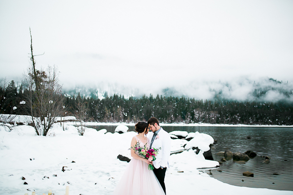 Blush Pink Inspired Winter Wedding-5