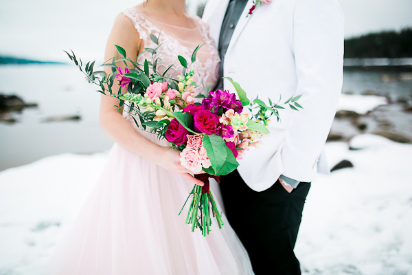 Blush Pink Inspired Winter Wedding-6