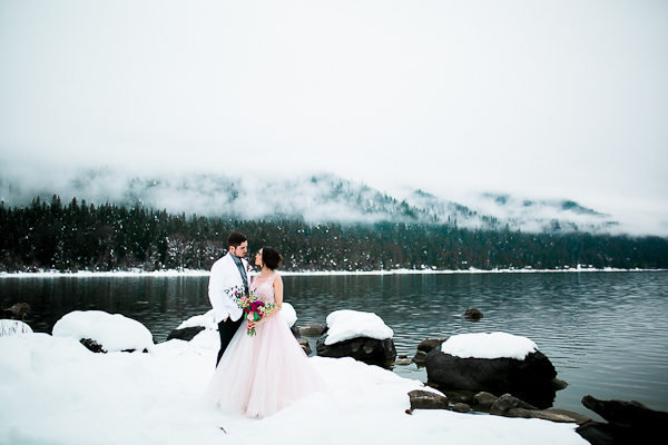 Blush Pink Inspired Winter Wedding-9