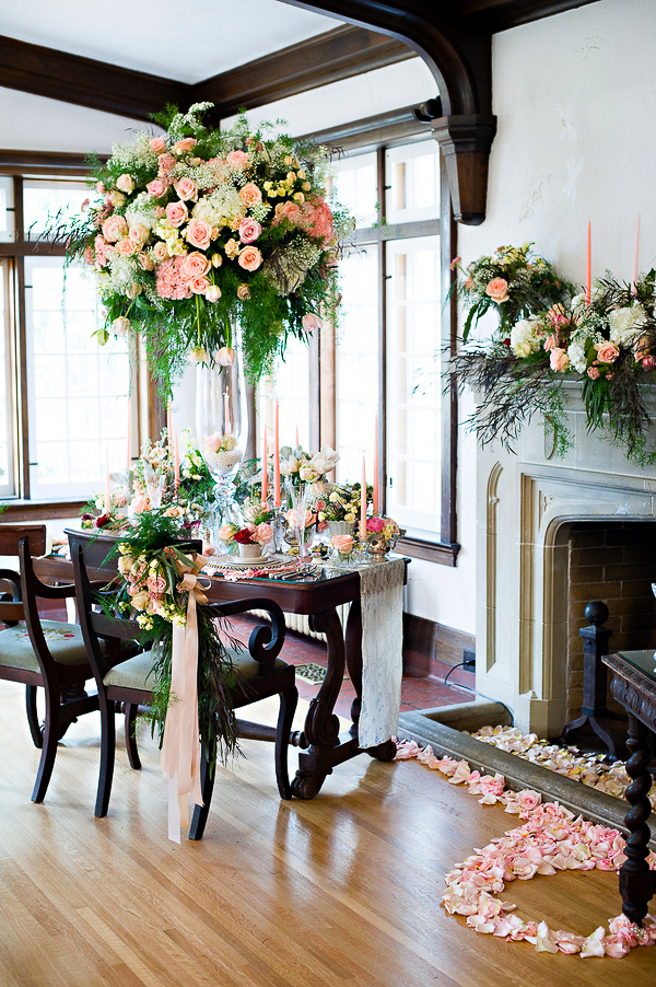 Downton Abbey Inspired Styled Shoot-3
