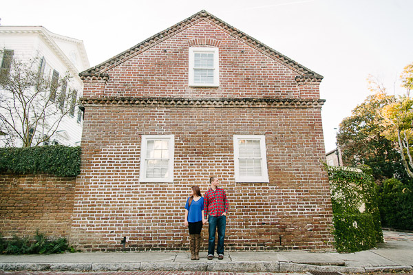 Downtown Charleston Engagement Portraits_