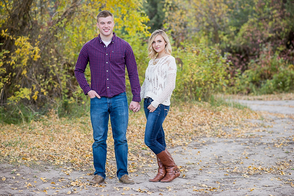 Fall Idaho Mountain Engagement-6