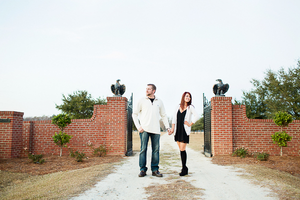 Fall North Carolina Engagement Session-11