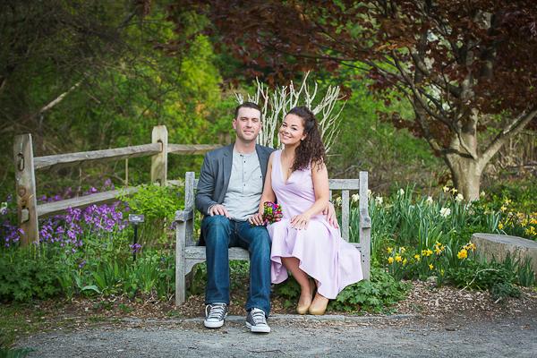 Lovely Garden Engagement-3
