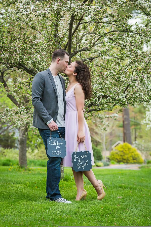 Lovely Garden Engagement-7