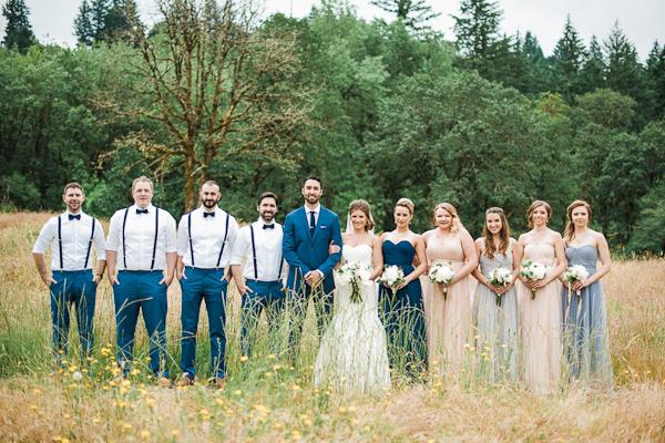Beautiful Garden Wedding in Portland Oregon