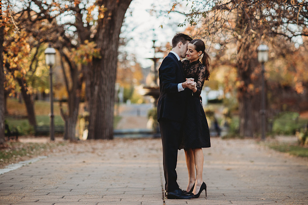 Downtown St. Paul Classic Engagement
