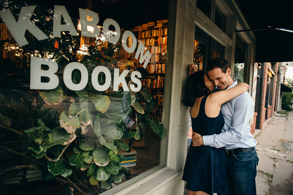 Kaboom Books Engagement Session