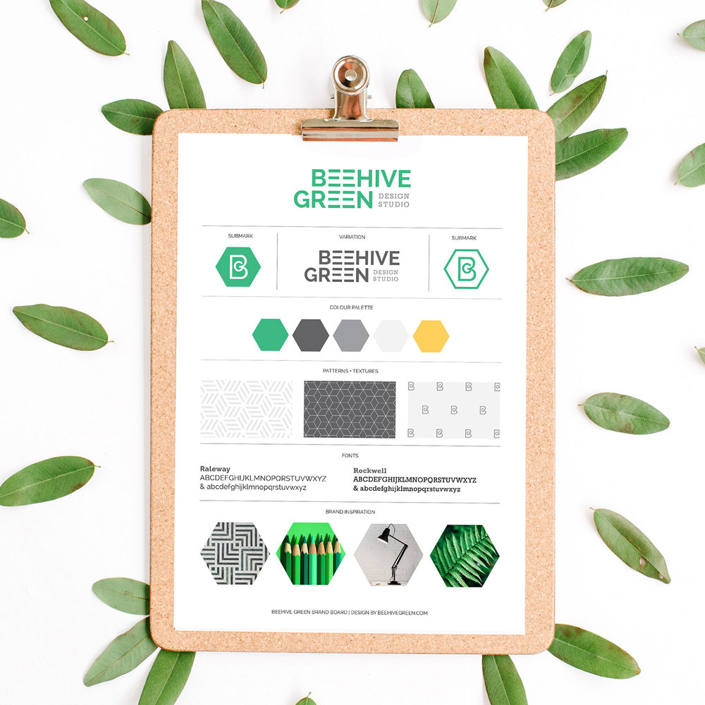 Branding Packages | Foundation Package | Beehive Green Design Studio | Logo and Branding Design, WGC, Hertfordshire