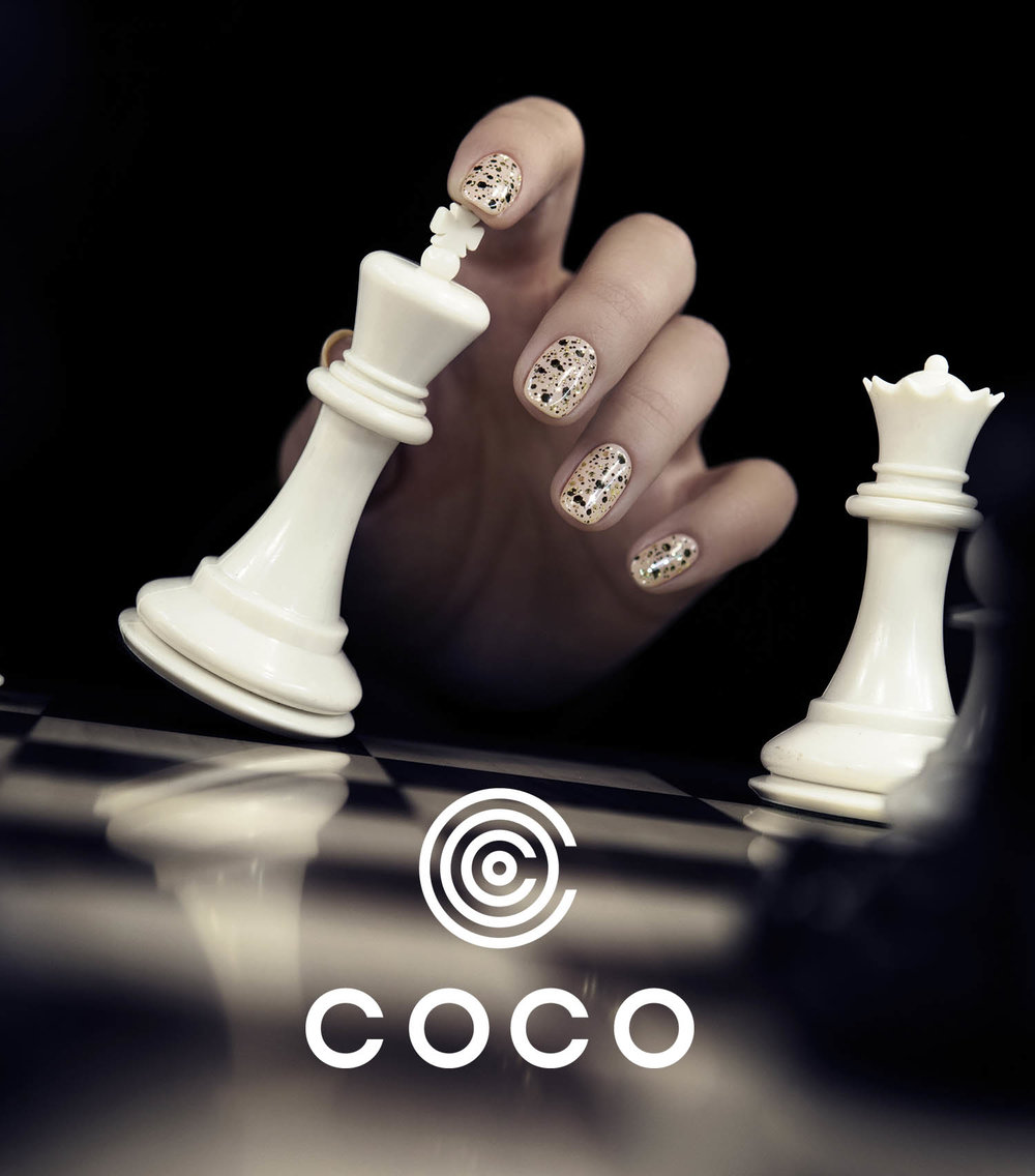 Portfolio project: Coco main logo | Beehive Green Design Studio