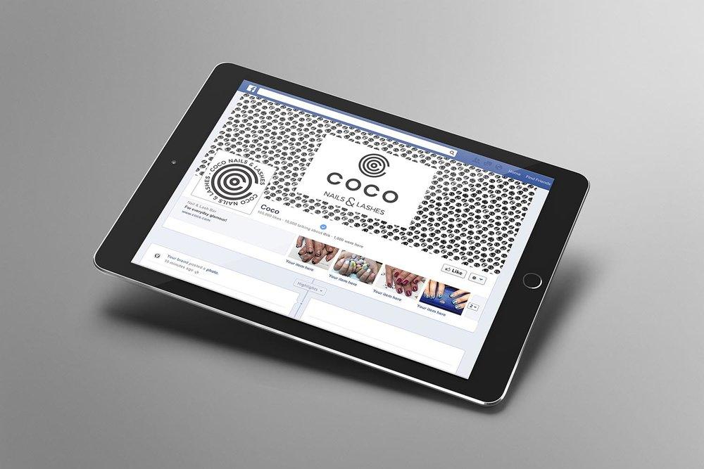Portfolio project: Coco Facebook profile | Beehive Green Design Studio