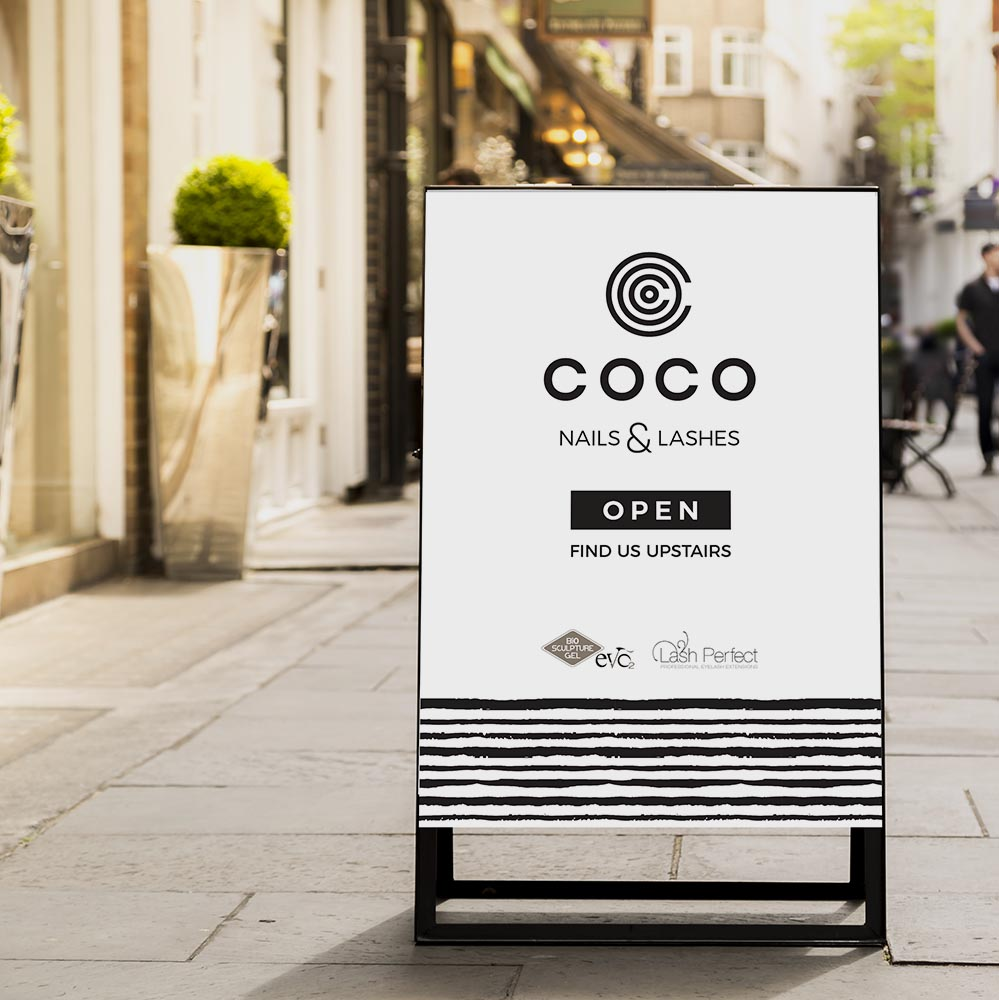 Portfolio project: Coco Facebook profile | Beehive Green Design Studio