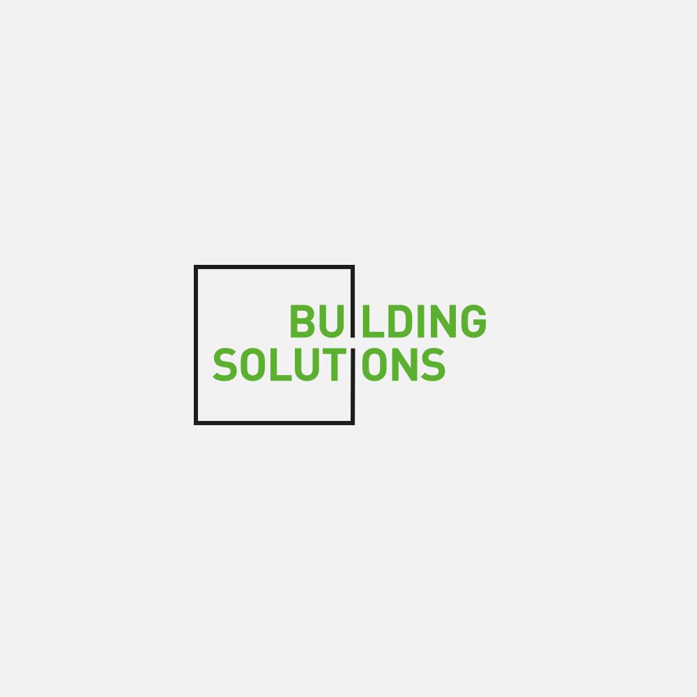 Portfolio | Building Solutions logo | Beehive Green Design Studio