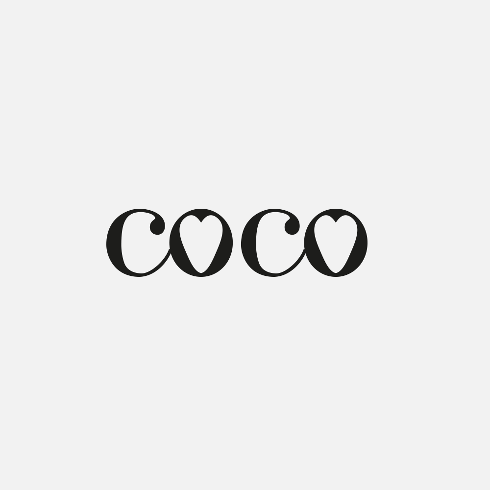 Portfolio | Coco concept logo | Beehive Green Design Studio