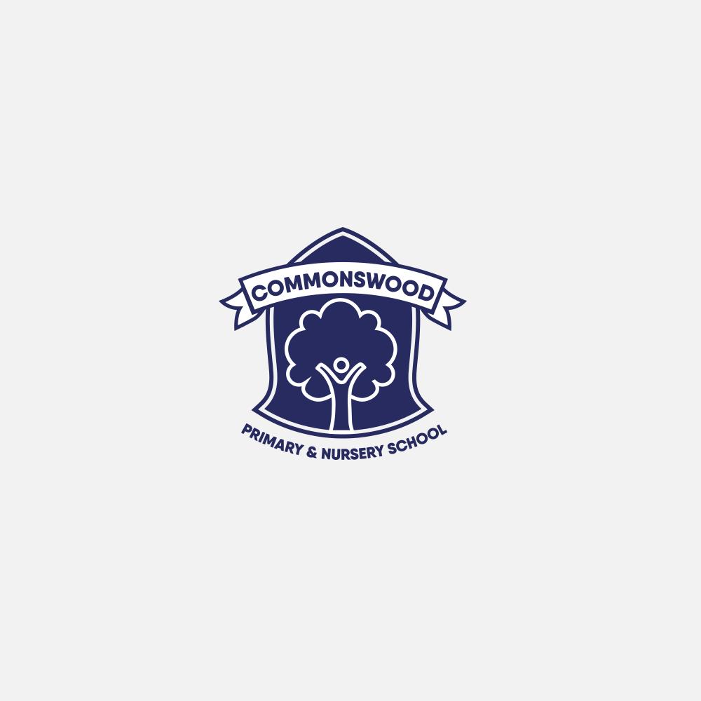 Portfolio | Commonswood School concept logo | Beehive Green Design Studio