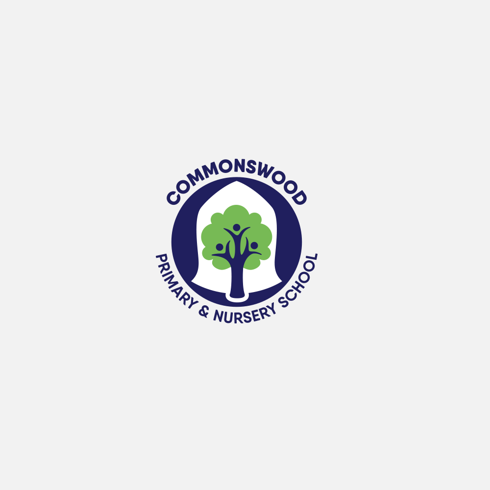 Portfolio | Commonswood School logo | Beehive Green Design Studio