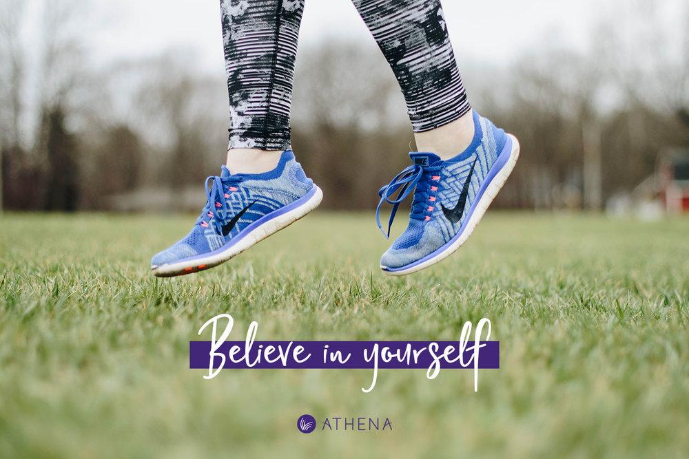 Portfolio project: Athena tagline | Beehive Green Design Studio