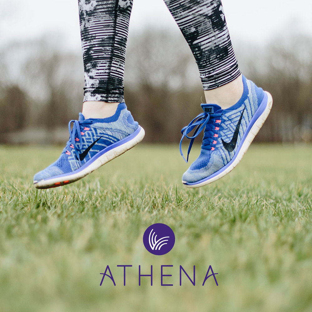 Portfolio project: Athena branding | Beehive Green Design Studio | Logo and Branding Design, WGC, Hertfordshire
