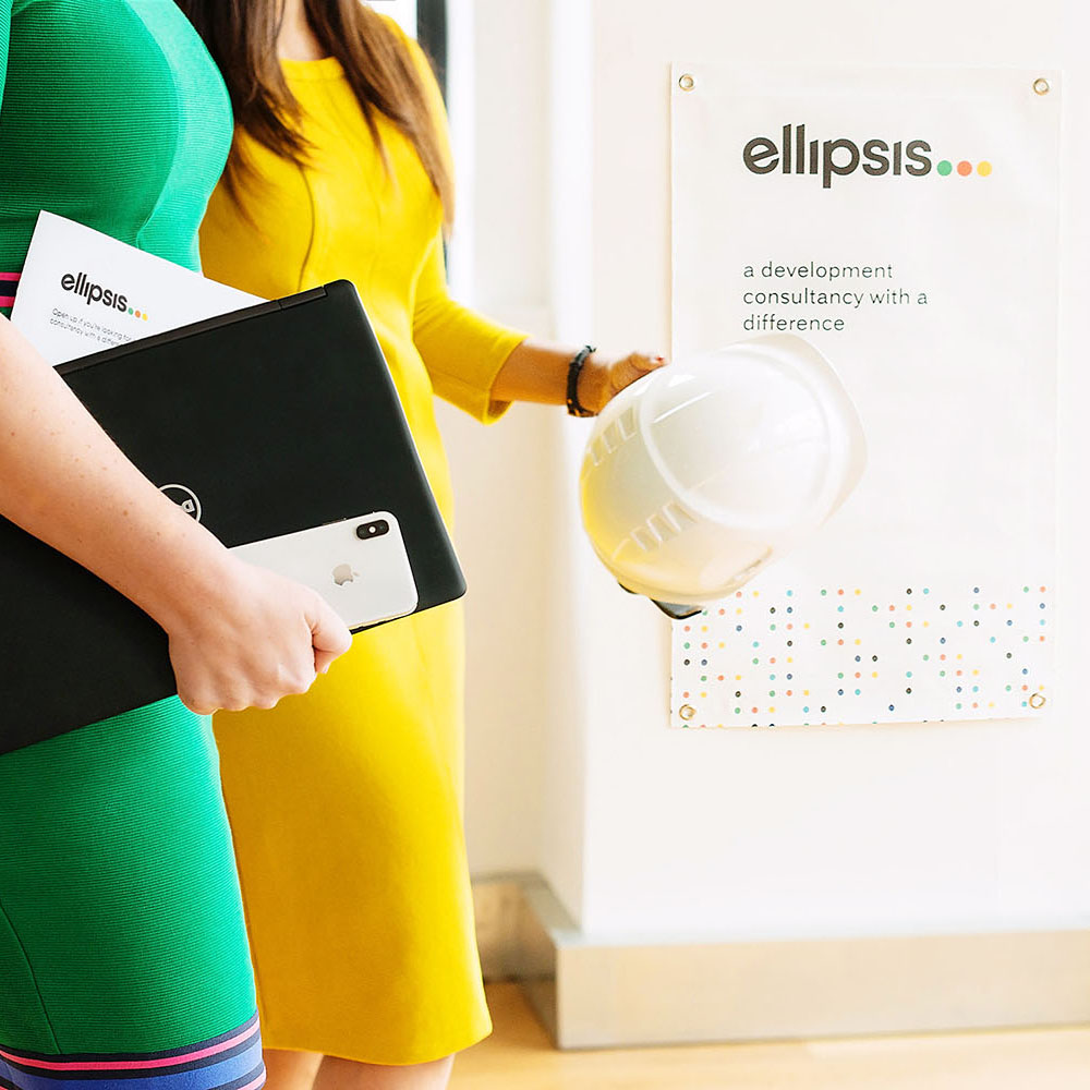 Portfolio project: Ellipsis branding | Beehive Green Design Studio | Logo and Branding Design, WGC, Hertfordshire
