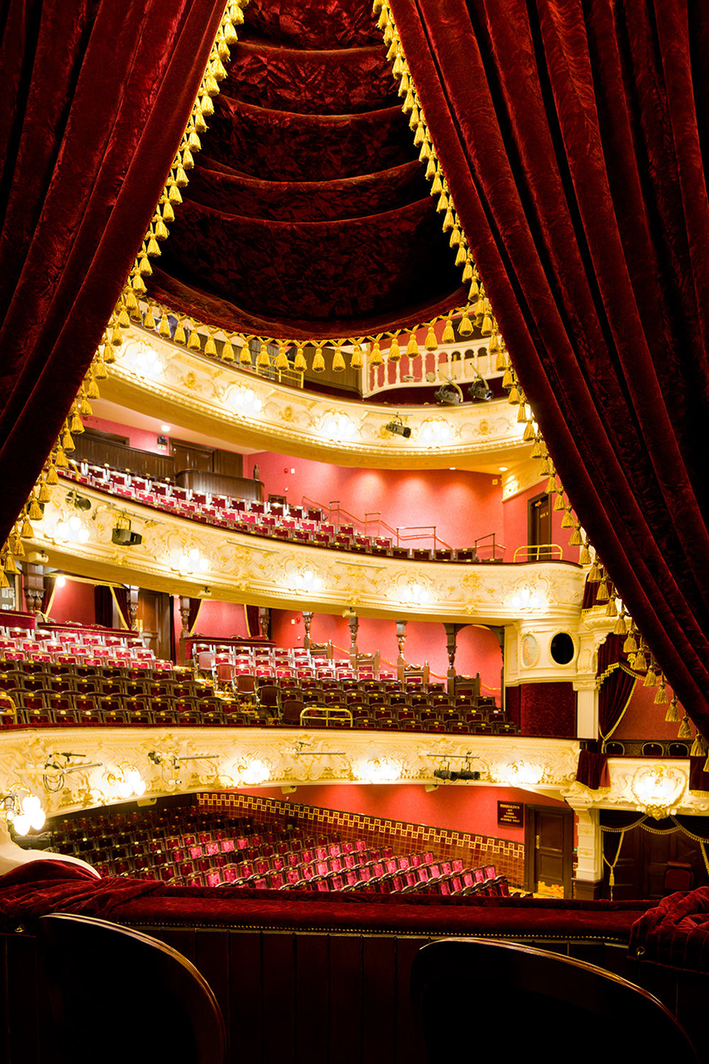 view of interior of Theatre Royal Newcastle