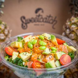 Kohei Kishida and Lee Anne Wong : Sweetcatch Poke