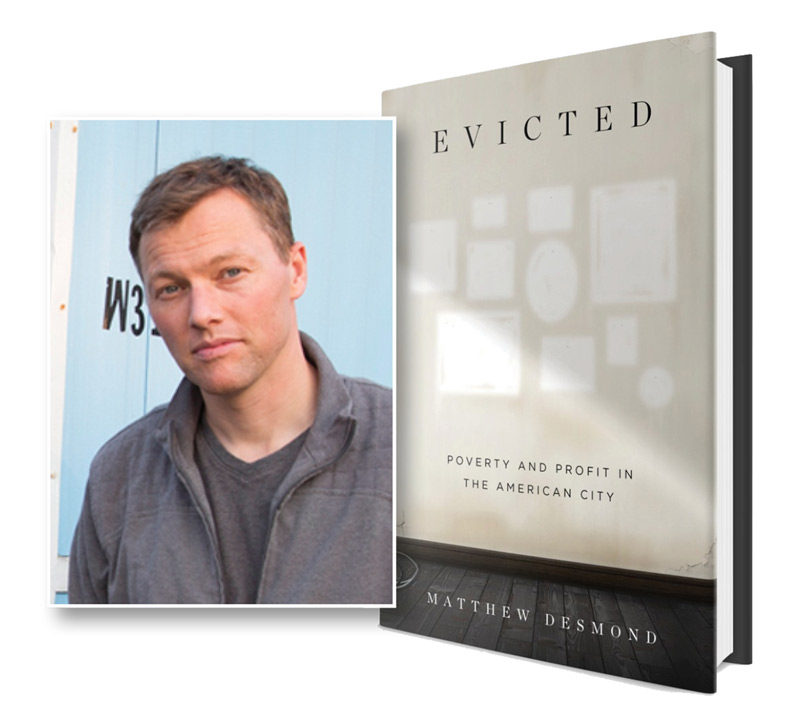 - This year's selection, the Pulitzer Prize-winning Evicted: Poverty and Profit in the American City by Dr. Matthew Desmond, will transform our understanding of poverty and the centrality of home. One Community Reads programming will include book discussions, film screenings and panel discussions on the topics of economic exploitation, inequality and housing – and how we might come together as a community to address the devastating problem of eviction. One Community Reads will conclude with an appearance by Matthew Desmond on March 15, 2018 at the Ohio Theatre.