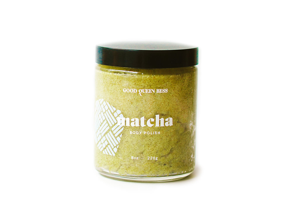 MATCHA - A reviving blend of whipped Shea butter and Louisiana Brown Sugar with coconut oil, matcha, Dead Sea salt and vitamin E essential oils to reduce inflammation and moisturize for rejuvenated, younger-looking skin.