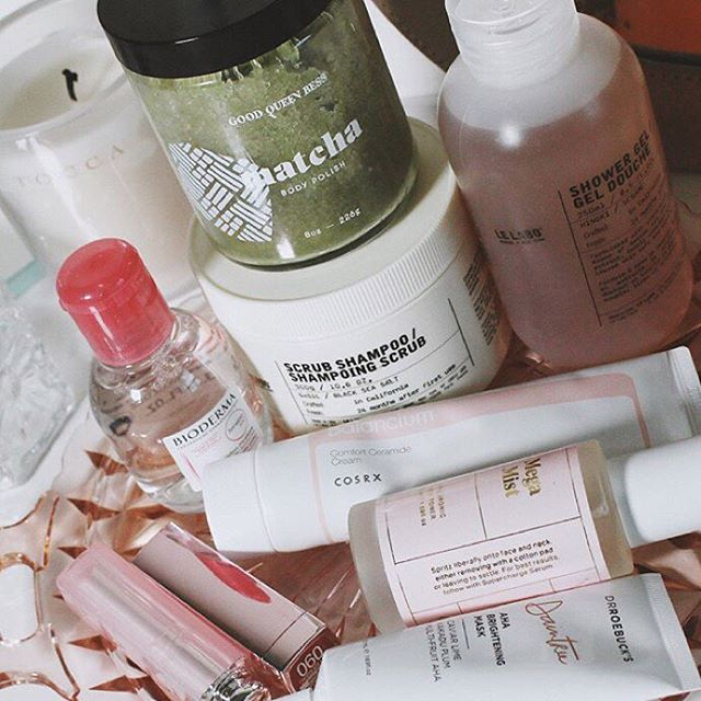 In such good company! Thanks @overglowedit! 😘 . . . . . . . #selfcare #floweroftheday #neworleans #persuepretty #goodqueenbess  #matcha #matchalove #matchatea #matchaskin #loveyoumatcha #neworleansmua #topshelfie #GNIvibes #skincareobsessed #skincareroutine #skincareshelfie  #selflove #selfcare #selfcaretips #skincareessentials #igtopshelfie #skincarejunkie #instaskin #intothegloss