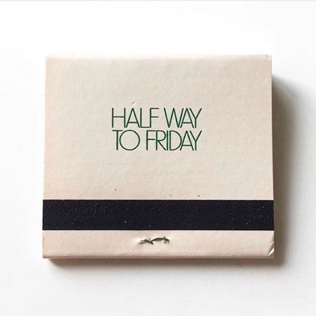 🔥🔥🔥🔥 📷: @bleubird . . . . . . #halfwaytofriday #selfcare #wednesday #humpday #workinfortheweekend #nolamade #neworleans #matchbook #matches #mood