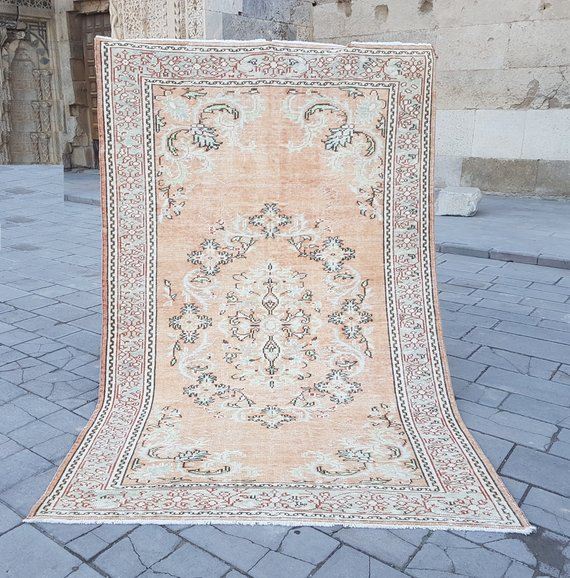 Faded Colors Oushak Rug