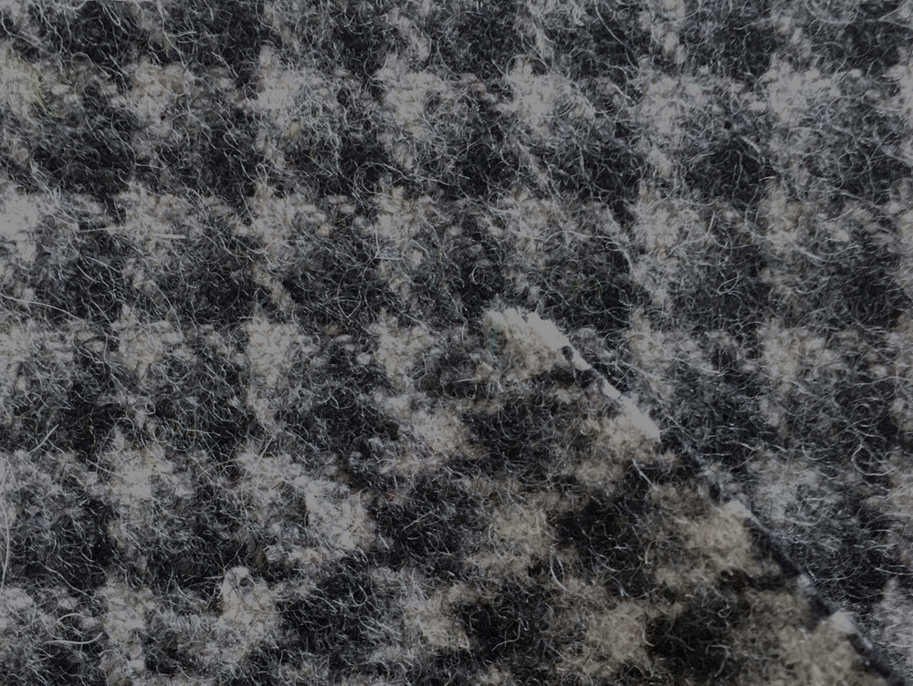 Wool - Wool stays easily clean and doesn't absorb dust. It has the ability of felting which is very resistant and durable.