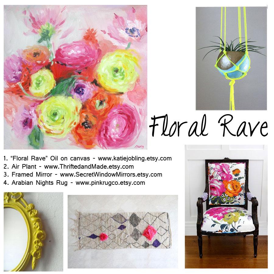 Floral-Neon-Mood-Board