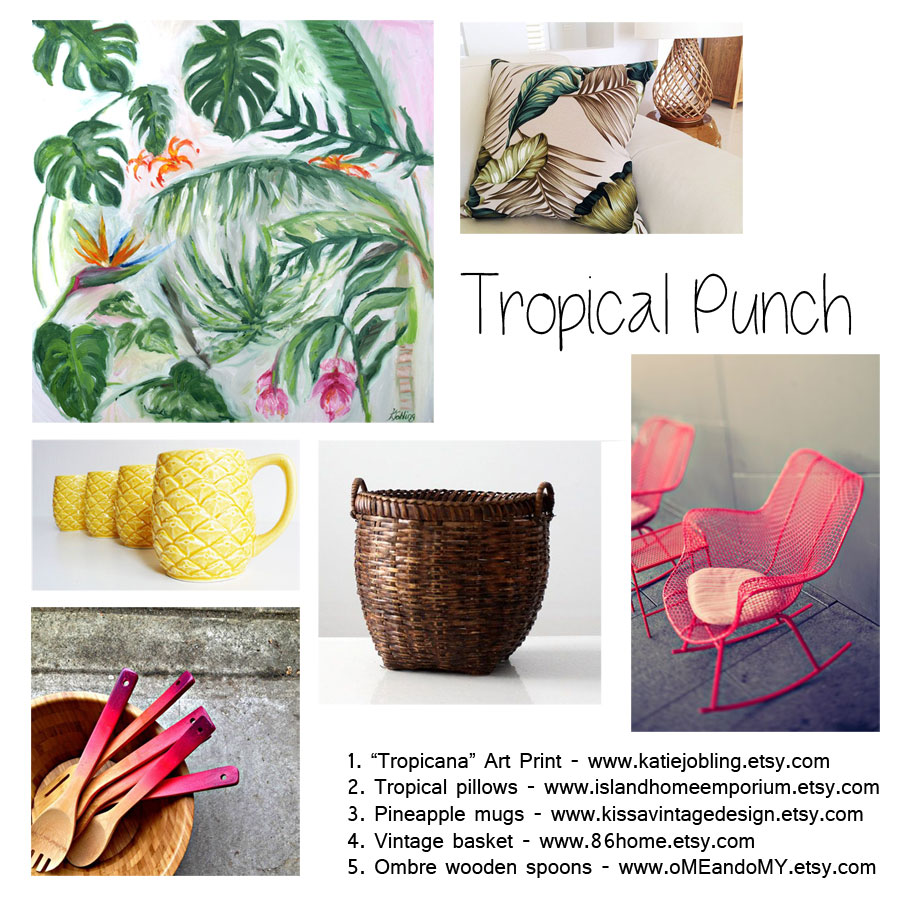 tropical-mood-board