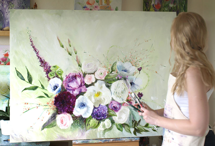 Large-scale floral, 2014