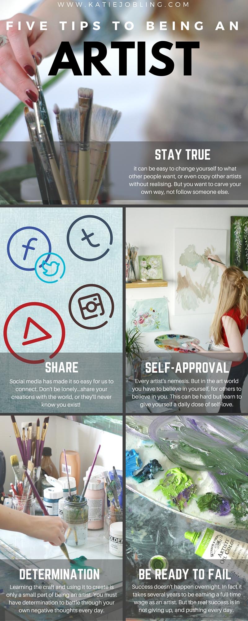 five tips artist