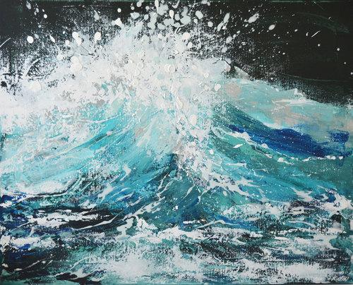 ocean art collision 24 x 30 katie jobling