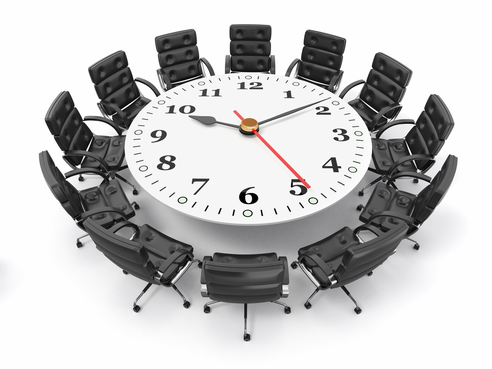 BE MINDFUL OF TIME - Start the meeting on time.In opening remarks, remind everyone that delegates' departures may be affected by presentations running late.Keep the meeting short (as short as possible to get the