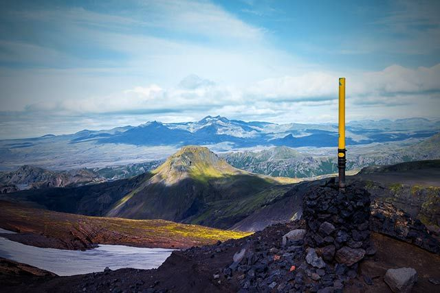 View-over-Laugavegur-trek-from-Fimmvorduhals-pass-between-Eyjafjallajokull-and-Myrdalsjokull-glacier-By-Pavel-Dobrovsky.jpg