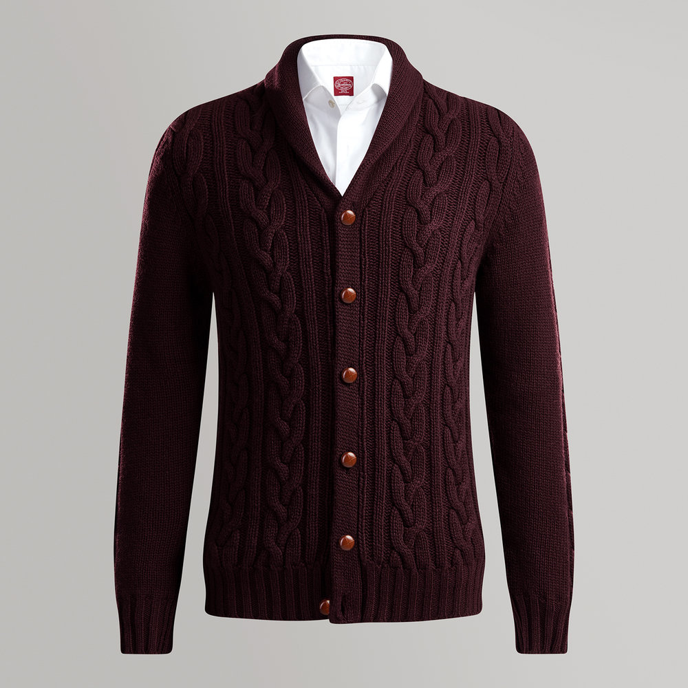 Burgundy_Shawl_Neck_Cadigan_AW17_Front.jpg