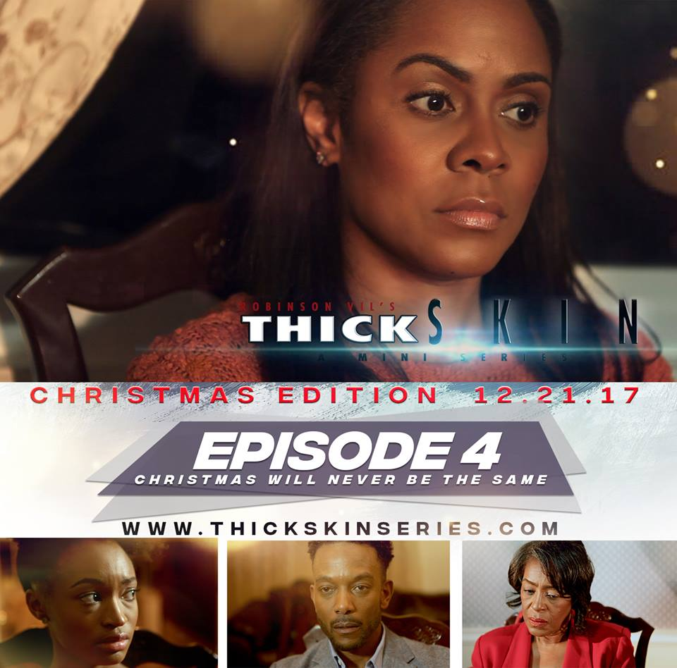 "Thick Skin premiered a special Christmas episode to give you a glimpse of ""Olivia""'s mother's story. See more on www.thickskinseries.com  Naomi portrayed by ""TASIA GRANT"" divulges some painful memories from her past, in this emotional ""Christmas Episode""."