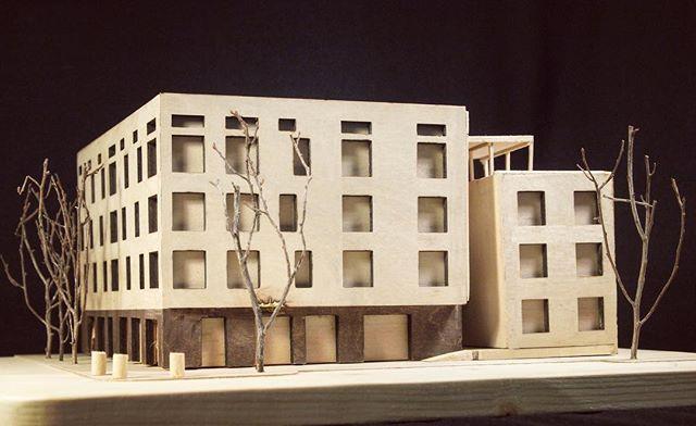 Model of Vermilion Lofts by our summer intern @francisco_kellman