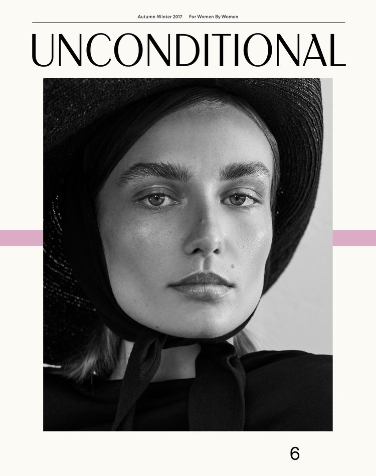 Andreea Diaconu - For Unconditional Magazine