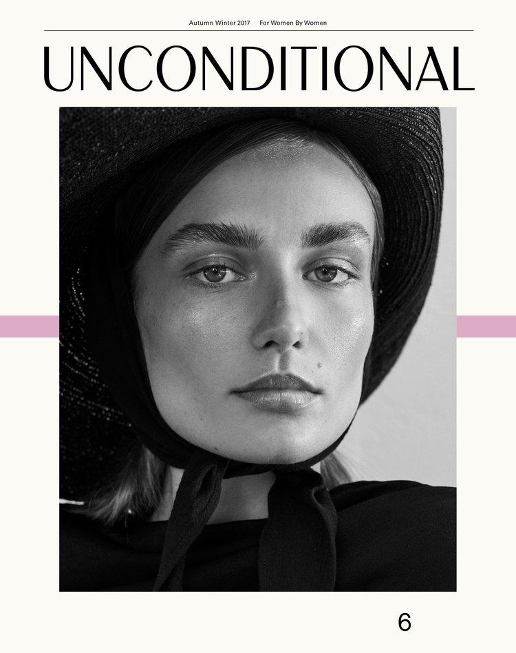 Andreea Diaconu - For Unconditional Magazine