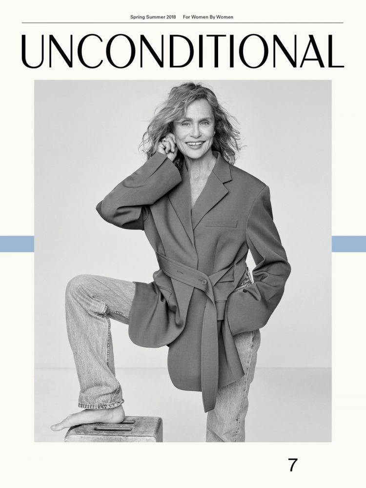 Lauren Hutton - Unconditional Magazine no.7