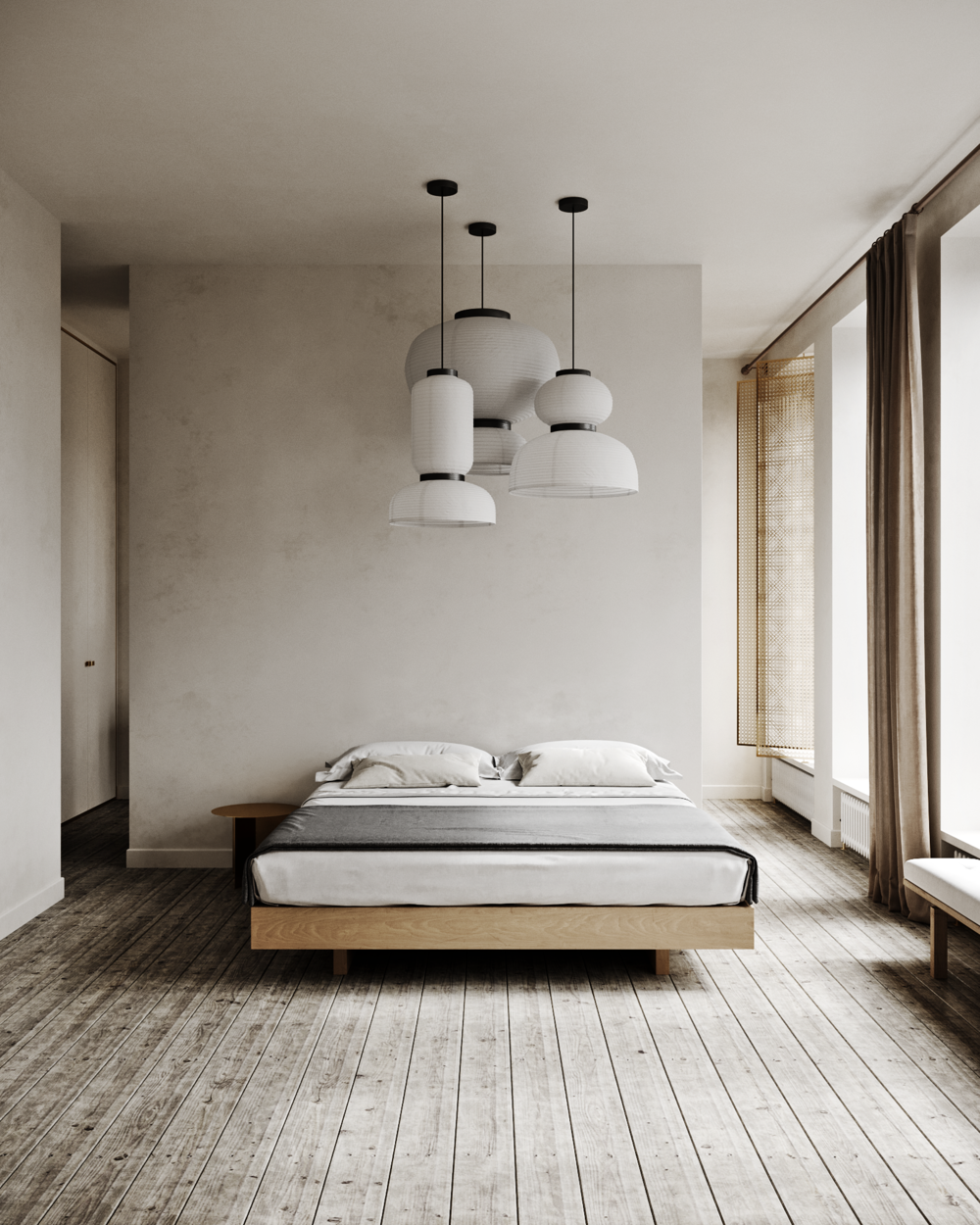 Minimal interiors - by Natalie Dubrovska