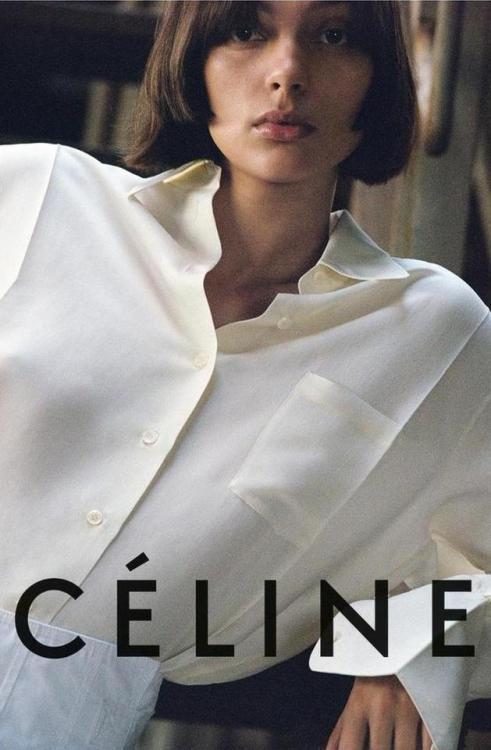 Céline Pre-Fall 2017 campaign captured by photographer Talia Chetrit