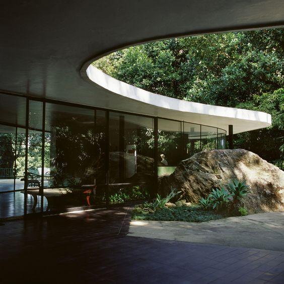 Das Canoas House - Oscar Niemeyer, 1951
